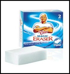 Products I Love Series: Mr. Clean Magic Erasers...so many uses it's ridiculous