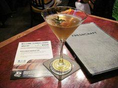 Rosemary #Manhattan #cocktail at Freshcraft #Denver
