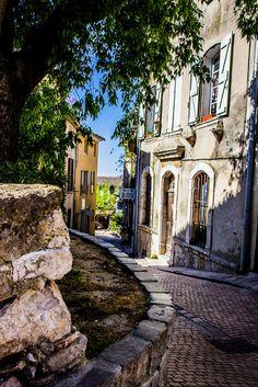 La Cadière d'Azur en Le Castellet- Provence, France