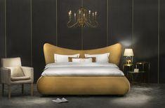 #boxspring #bed #interiordesign #design #bedding #decoration #bedroom #bedroomdecor Bed Design, Bedroom Decor, Lounge, Couch, Latex, Interior Design, Furniture, Beds, Blogging