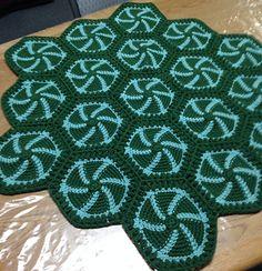 Ravelry: Pin Wheel Afghan pattern by Cecilia Vanek
