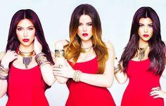 I love the Kardashian girls.