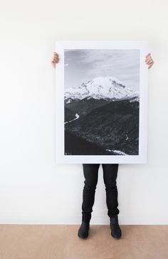 "Make a statement. The all-new Large Format Fine Art Prints from @artifactuprsng feature the highest quality inkjet printing on smooth FSC-certified paper. Available in sizes as large as 40x60"" (you heard that right!)"