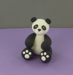This super cute bear is sure to put a smile on anyone's face lucky enough to get him as a gift!