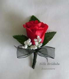 Rose boutonnieres