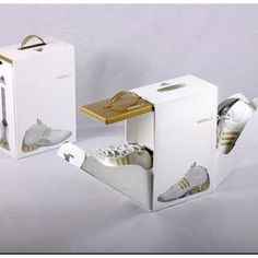 Packaging: Addidas shoe box Archex inspiration www.archex.ca