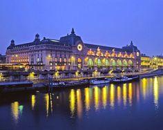 Musee d'Orsay, originally a train station Le Gare. Paris.