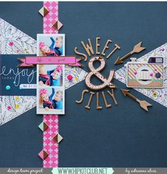 Good morning Hip Kit fans! I'm here today with a layout I created using the beautiful March 2015 kits! I knew I wanted to use a dark background for the photos I printed off of my son and daughter ...