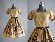 Love the innocence of this day dress! TuesdayRoseVintage