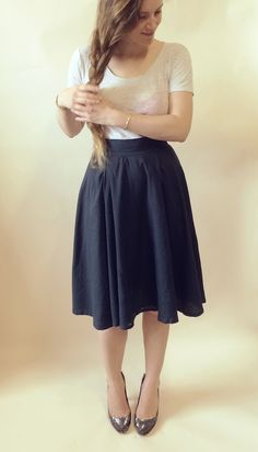 Flora Dress Sewalong #9: Assembling the skirt pieces, plus how to make – By Hand London