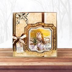 Festive Birds of Britain Topper Set - Owl & Pheasant | Hunkydory Crafts