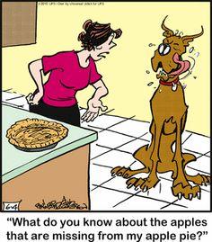 Dog Cartoons, Watch Cartoons, Cartoon Dog, Funny Animal Pictures, Funny Animals, Dog Comics, Gentle Giant, Calvin And Hobbes, Princess Leia