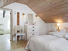 Slaapkamer ontwerpen op zolder | Interieur inrichting