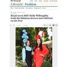 f329e1e3be08 Bespoke Hat for Royal Ascot Ladies Day by YUAN LI LONDON Millinery