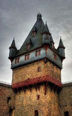 Medieval, Romrod Castle in Hesse,   Germany