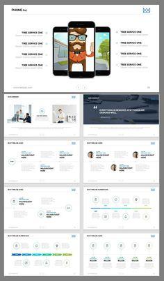 modern presentation template - amazing PowerPoint templates