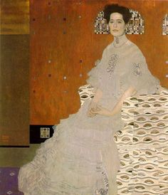 Портрет Фрицы Ридлер. 1906 г. Холст, масло 153 x 133 см Галерея Бельведер, Вена, Австрия