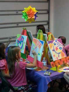 Owl Art 8 Year Old Birthday Party 7th Ideas