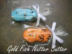 nutter butter cookies decorated as fish Chocolate Making, Chocolate Dipped, How To Make Chocolate, Nutter Butter Cookies, Sugar Cookies, Fun Cookies, Cupcake Cookies, Birthday Favors, Party Favors