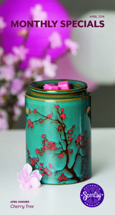 april warmer of the month ♥ So obsessed with this one!! www.happy.scentsy.us