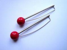 Red Planet earrings