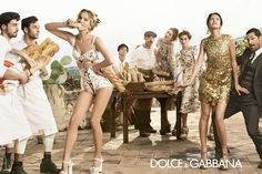 Love the layouts for this campaign dolce gabbana spring summer campaign 5 More Photos of Dolce & Gabbanas Spring/Summer 2014 Ads