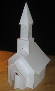 Paper Church Pattern