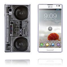 Radio (Hvit) LG Optimus L9 Deksel