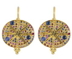 18K Pave Sorcerer Earrings - Temple St. Clair