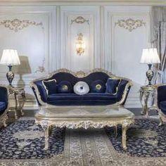 Luxury living room in Baroque style | Vimercati Classic Furniture