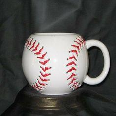 Larose Flowers and Gifts - Ceramic Baseball Mug, $13.50 (http://www.larose.com/cups-and-mugs/ceramic-baseball-mug/)