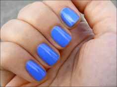 Sally Hansen Pacific Blue literally in love with this color!!