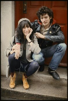 Patti Smith and Robert Mapplethorpe by Kate Simon, 1979