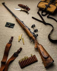 Holland & Holland .375 H&H Magnum Bolt Action.