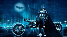 Batman Tron Mashup