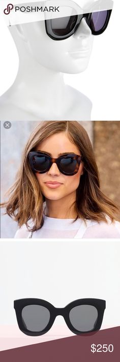 8bb6979489 Celine Baby Marta Sunglasses Worn once. Comes with case. 100 percent  authentic. Paid