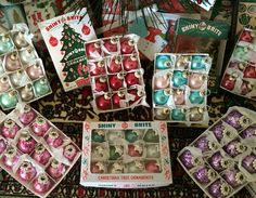 1:12 casa de muñecas miniatura - adornos de Navidad con caja