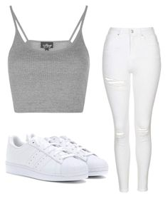 """#ContestOnTheGo #ContestEntry"" by fashionfever147 ❤ liked on Polyvore featuring Topshop, adidas, contestentry and ContestOnTheGo"