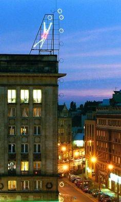 Warsaw neon