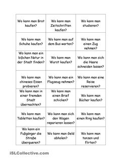 Questions for German class German Grammar, German Language, German Resources, Der Bus, Learn German, Vocabulary, Teaching, This Or That Questions, Education
