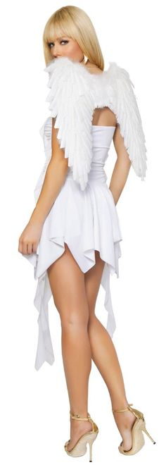 White Feather Costume Wings | Costume Craze