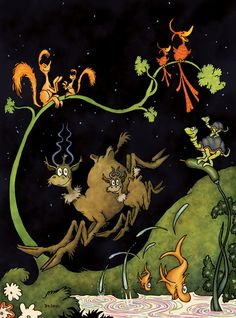 """After Dark in the Park by: Theodor """"Dr. Seuss"""" Geisel!"""