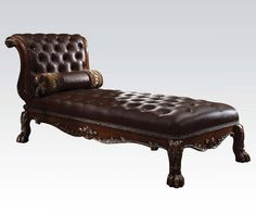 Dresden Cherry Wood Chaise