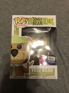Funko Pop Yogi Bear Flocked Gemini Collectibles Exclusive Slight Box Ding CheepChicky 99 CENT AUCTION