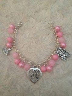 Little girls ballet charm bracelet - The Supermums Craft Fair