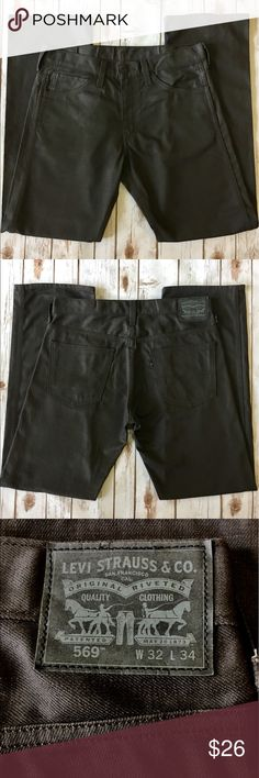 💥WEEKEEND SALE💥Levi's - Straight Denim Jeans Levi's - Men's Dark Gray Straight Fit Denim Jeans (size 32x34). In impeccable preowned condition. Please be sure to check out all of my other men's items to bundle and save. Same day or next business day shipping is guaranteed. Reasonable offers will be considered. Levi's Jeans Straight