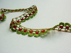 Crochet edging border
