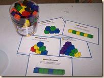Lots of manipulative and math preschool activities