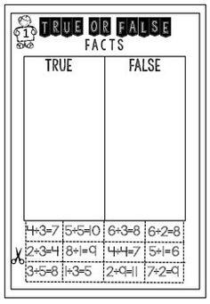 Math Printable Freebie