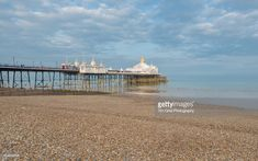 Stock Photo : Eastbourne Seafront and Eastbourne Pier